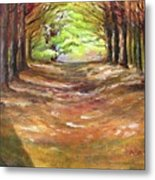Wooded Sanctuary Metal Print