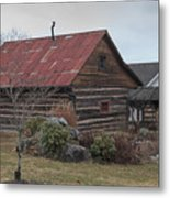 Wooden Barn Metal Print