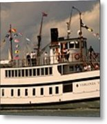 Wooden Boat Virginia V Metal Print