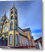 Wooden Cathedral  Metal Print