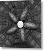 Wooden Fan Metal Print