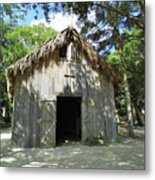 Wooden Mission Of Nombre De Dios Metal Print