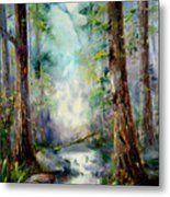 Woodland Creek 1.0 Metal Print