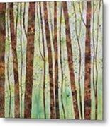 Woodland Spring Metal Print