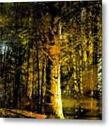 Woodland Tapestry Metal Print