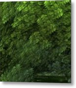 Woods And Stream Metal Print