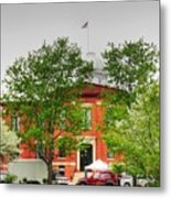 Woodstock Courthouse Metal Print