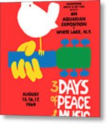 Woodstock Metal Print