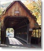Woodstock Middle Bridge Metal Print
