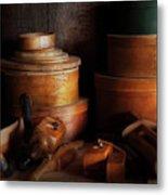 Woodworker - Shaker Box Shop  Metal Print