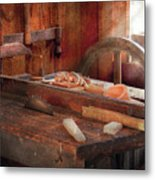 Woodworker - The Table Saw Metal Print