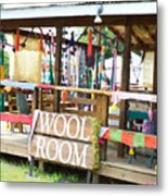 Wool Room 1 Metal Print