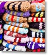 Wool Socks Metal Print