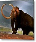Woolly Mammoth Metal Print