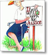 Work For Justice - Mmwfj Metal Print