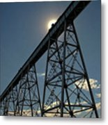 Working On The Railroad Metal Print