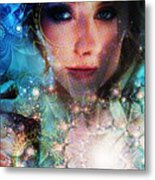 World Acording To Sellah Wildfury Metal Print