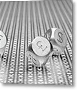 World Currencies 1 Metal Print