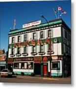 World Famous Alaska Hotel Metal Print