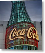 World Of Coca Cola Metal Print