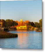 World Showcase Lagoon Before The Show Walt Disney World Metal Print