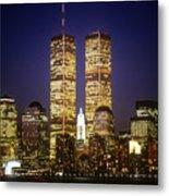 World Trade Center Metal Print by Gerard Fritz