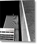 World Trade Center Pillars Metal Print