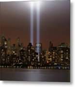 World Trade Center Tribute In Light Metal Print