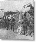 World War I: Aviators, 1914 Metal Print