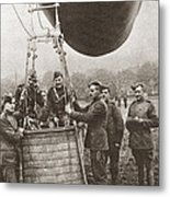 World War I: Balloon Metal Print