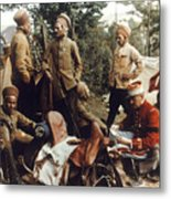 World War I: French Troops Metal Print