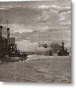World War I: Naval Fleet Metal Print