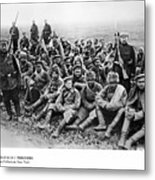 World War I: Prisoners Metal Print