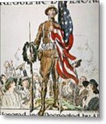 World War I: U.s. Army Metal Print