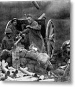 World War I: U.s. Artillery Metal Print