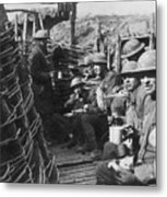 World War I: U.s. Troops Metal Print