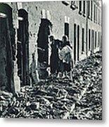 World War II: Blitz, 1940 Metal Print