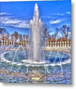 World War II Memorial Metal Print