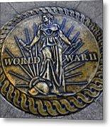 World War II Monument Metal Print