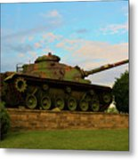 World War Two Tank Metal Print