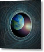 Worlds Beyond Metal Print