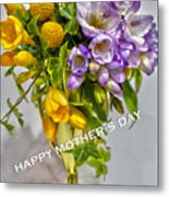 World's Greatest Mom Mother's Day Card Metal Print