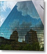 World's Largest Canvas John Hancock Tower Boston Ma Metal Print