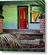 Worn Out Welcome Metal Print