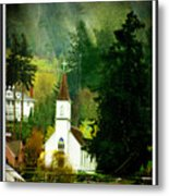 Worship In Kalama Metal Print
