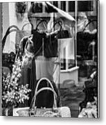 Worth Ave Reflections 0503 Metal Print