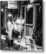 Worth Ave Reflections 0509 Metal Print