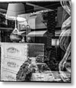 Worth Ave Reflections 0510 Metal Print