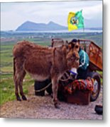 Would You Like A Ride In Ireland Metal Print