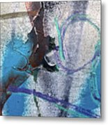 Wounded Concrete Metal Print